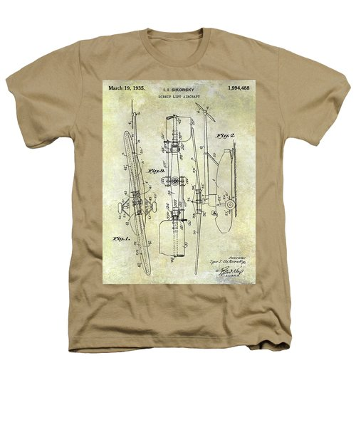 1935 Helicopter Patent  Heathers T-Shirt