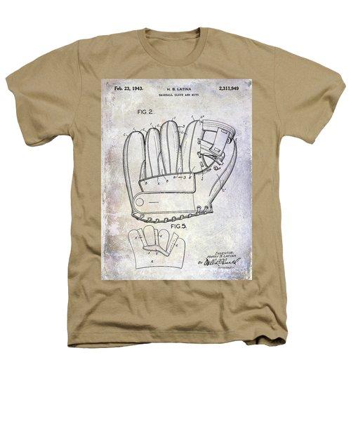 1943 Baseball Glove Patent Heathers T-Shirt