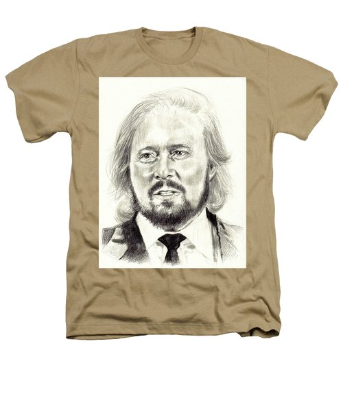 Barry Gibb Portrait Heathers T-Shirt