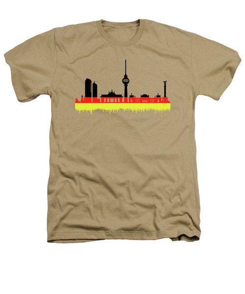 Berlin Skyline Heathers T-Shirt