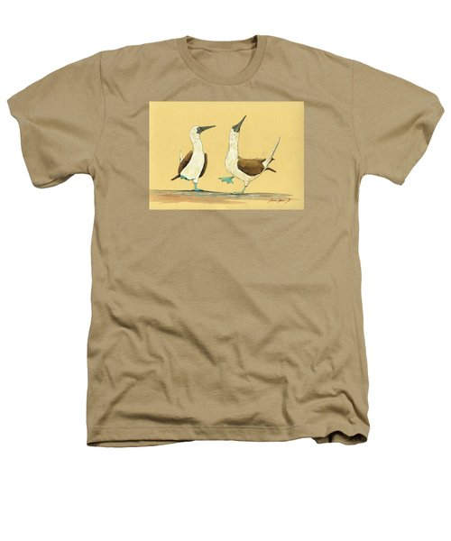 Blue Footed Boobies Heathers T-Shirt