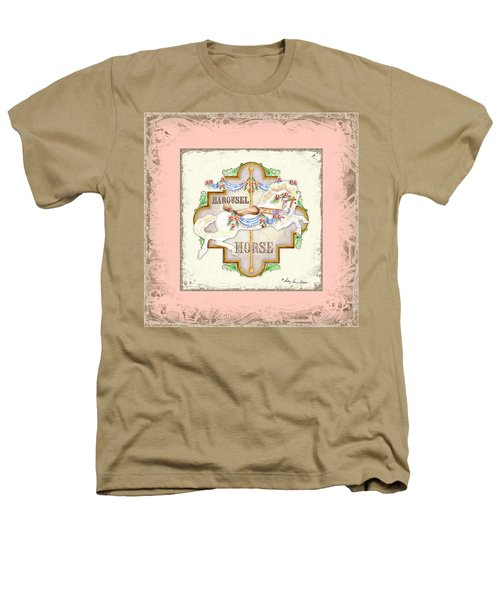 Carousel Dreams - Horse Heathers T-Shirt
