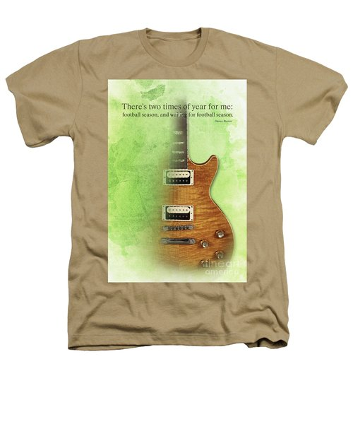 Darius Rucker Inspirational Quote, Electric Guitar Poster For Music Lovers And Musicians Heathers T-Shirt