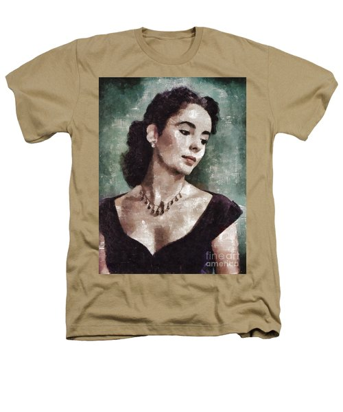 Elizabeth Taylor By Mary Bassett Heathers T-Shirt