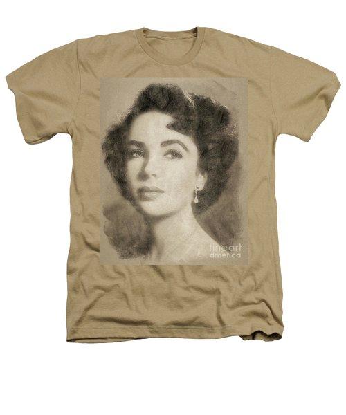 Elizabeth Taylor, Vintage Hollywood Legend By John Springfield Heathers T-Shirt