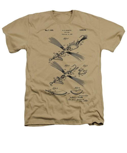 Fish Lure Patent 1933 Heathers T-Shirt by Chris Smith