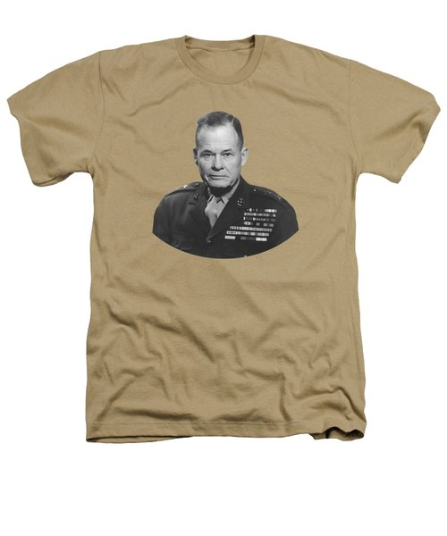 General Lewis Chesty Puller Heathers T-Shirt by War Is Hell Store