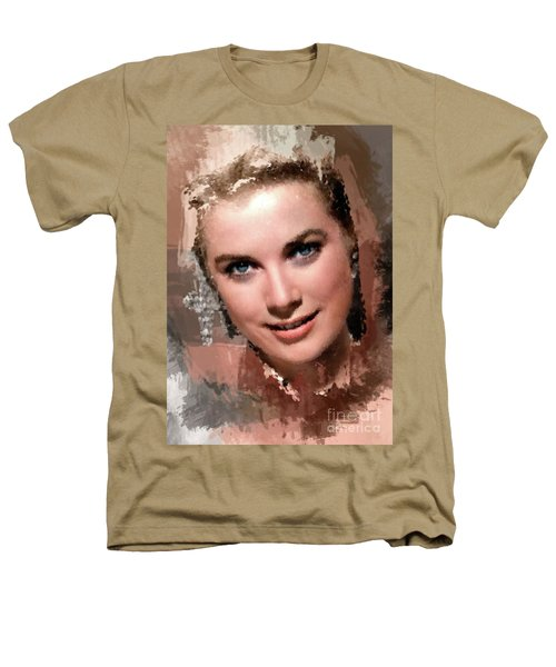 Grace Kelly, Vintage Hollywood Actress Heathers T-Shirt by Mary Bassett