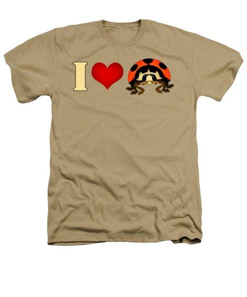 I Love Ladybugs Heathers T-Shirt by Sarah Greenwell