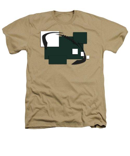 New York Jets Abstract Shirt Heathers T-Shirt by Joe Hamilton