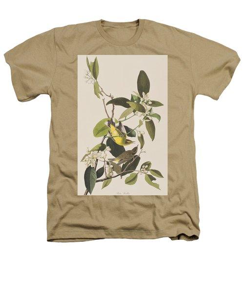 Palm Warbler Heathers T-Shirt by John James Audubon