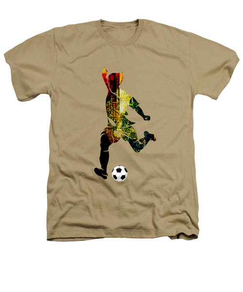 Soccer Collection Heathers T-Shirt by Marvin Blaine