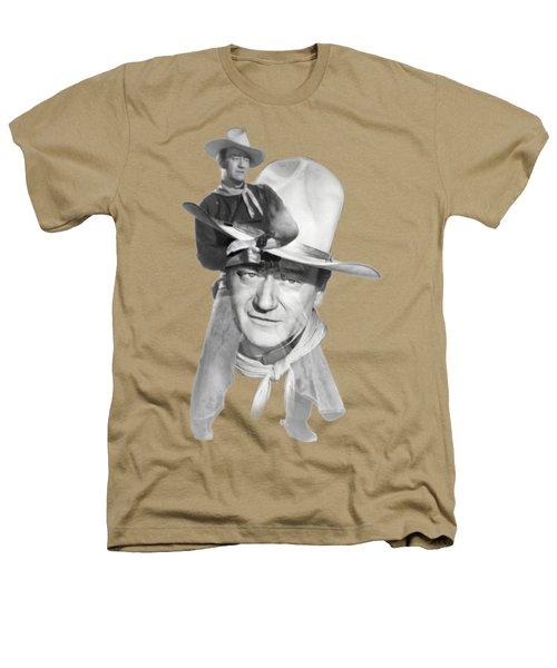 The Duke John Wayne Heathers T-Shirt by Diana Van