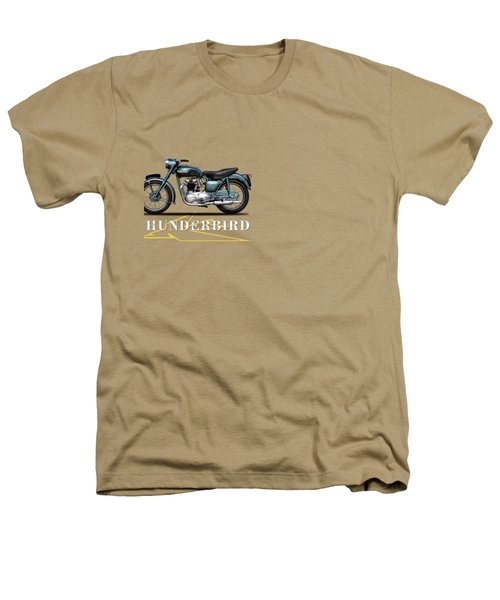 Triumph Thunderbird 1955 Heathers T-Shirt by Mark Rogan