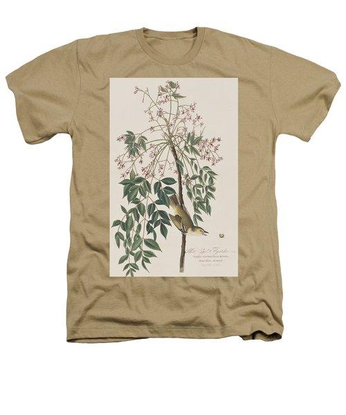 White-eyed Flycatcher Heathers T-Shirt by John James Audubon