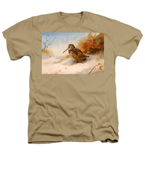 Winter Woodcock Heathers T-Shirt