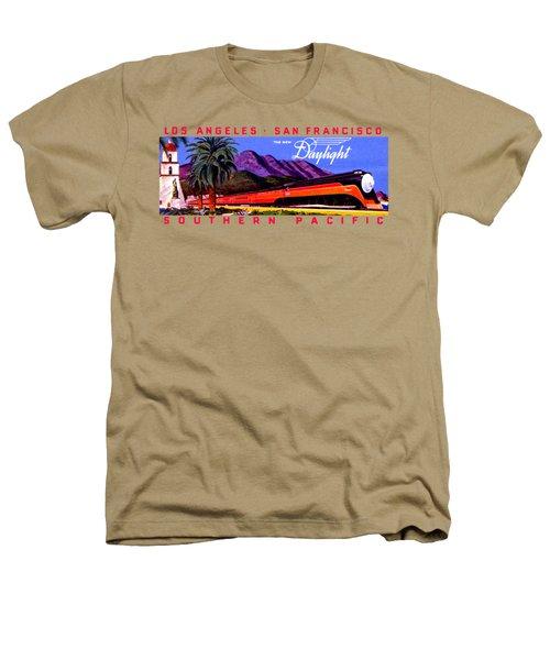 1922 Daylight Railroad Train Heathers T-Shirt