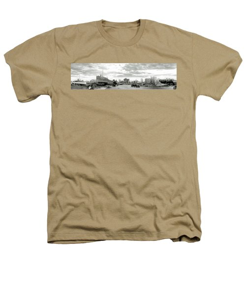 1926 Miami Hurricane  Heathers T-Shirt by Jon Neidert