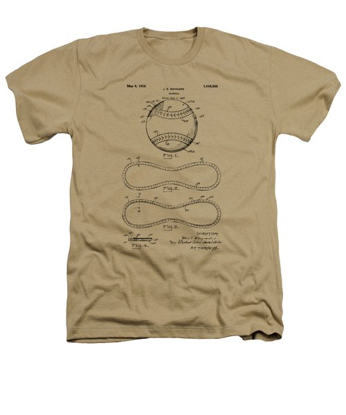 1928 Baseball Patent Artwork Vintage Heathers T-Shirt by Nikki Marie Smith