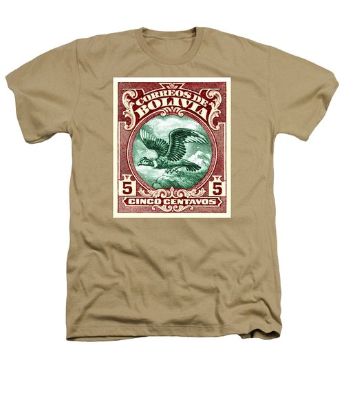 1928 Bolivia Andean Condor Postage Stamp Heathers T-Shirt