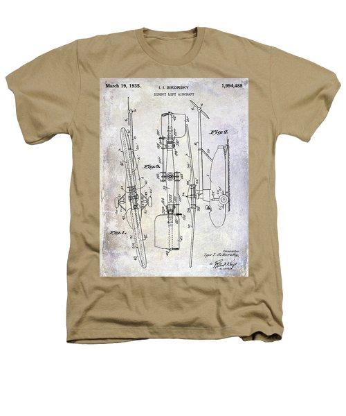 1935 Helicopter Patent  Heathers T-Shirt by Jon Neidert