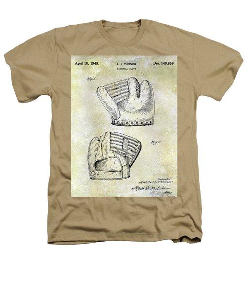 1945 Baseball Glove Patent Heathers T-Shirt