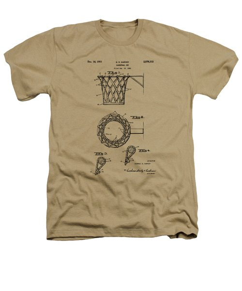 1951 Basketball Net Patent Artwork - Vintage Heathers T-Shirt by Nikki Marie Smith