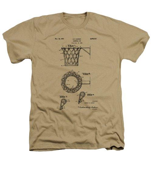 1951 Basketball Net Patent Artwork - Vintage Heathers T-Shirt by Nikki Marie Smith