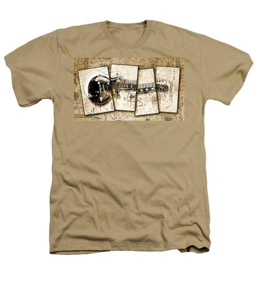 1955 Les Paul Custom Black Beauty V5 Heathers T-Shirt