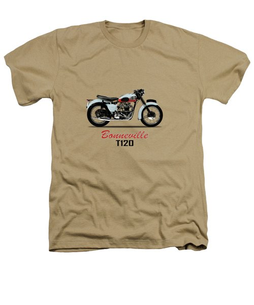 1959 T120 Bonneville Heathers T-Shirt by Mark Rogan