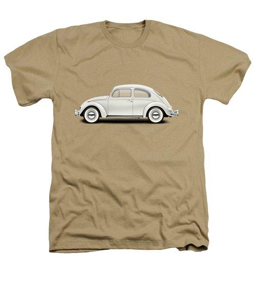 1961 Volkswagen Deluxe Sedan - Pearl White Heathers T-Shirt by Ed Jackson