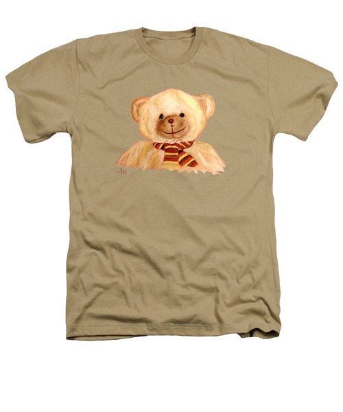 Cuddly Bear Heathers T-Shirt by Angeles M Pomata