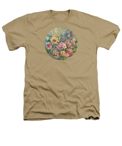 Floral Painting Heathers T-Shirt