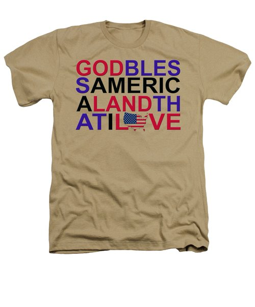 God Bless America Heathers T-Shirt