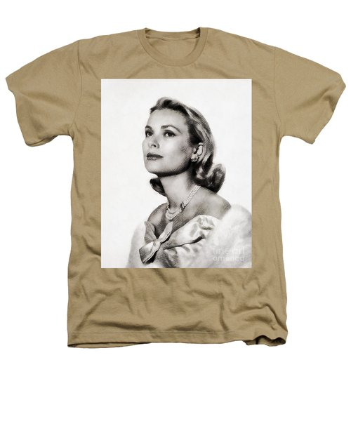 Grace Kelly, Vintage Hollywood Actress Heathers T-Shirt by John Springfield
