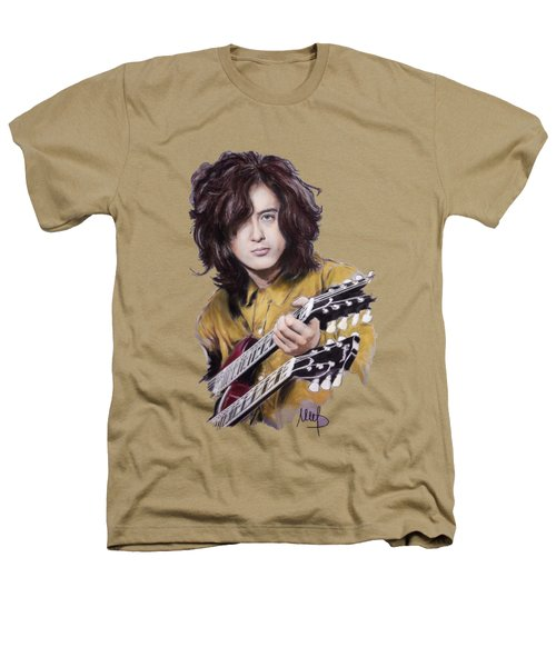Jimmy Page Heathers T-Shirt by Melanie D