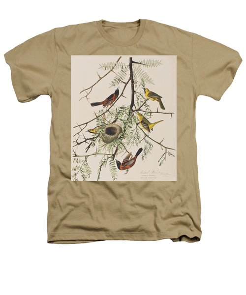 Orchard Oriole Heathers T-Shirt by John James Audubon