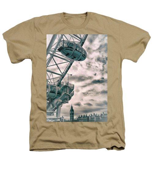 The London Eye Heathers T-Shirt by Martin Newman