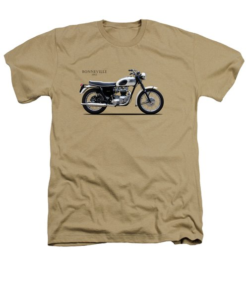 Triumph Bonneville 1963 Heathers T-Shirt by Mark Rogan