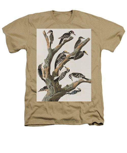Woodpeckers Heathers T-Shirt by John James Audubon