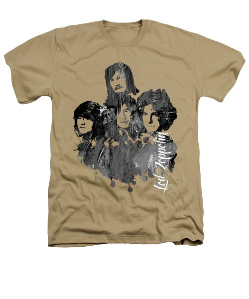 Led Zeppelin Collection Heathers T-Shirt by Marvin Blaine