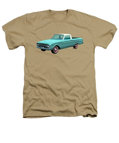 2nd Generation Falcon Ranchero 1960 Heathers T-Shirt by Chas Sinklier