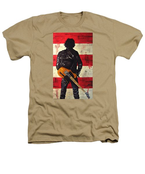 Bruce Springsteen Heathers T-Shirt by Francesca Agostini