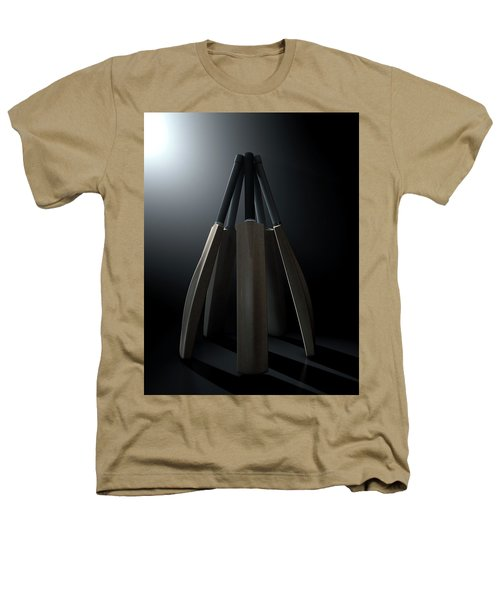Cricket Back Circle Dramatic Heathers T-Shirt by Allan Swart