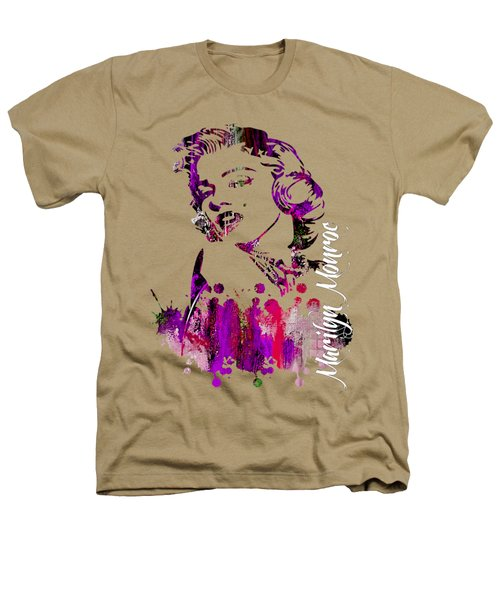 Marilyn Monroe Collection Heathers T-Shirt by Marvin Blaine