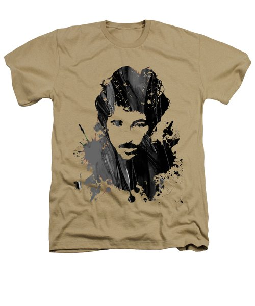 Bruce Springsteen Collection Heathers T-Shirt by Marvin Blaine