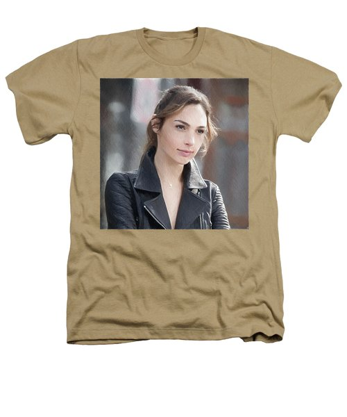 Gal Gadot Art Heathers T-Shirt