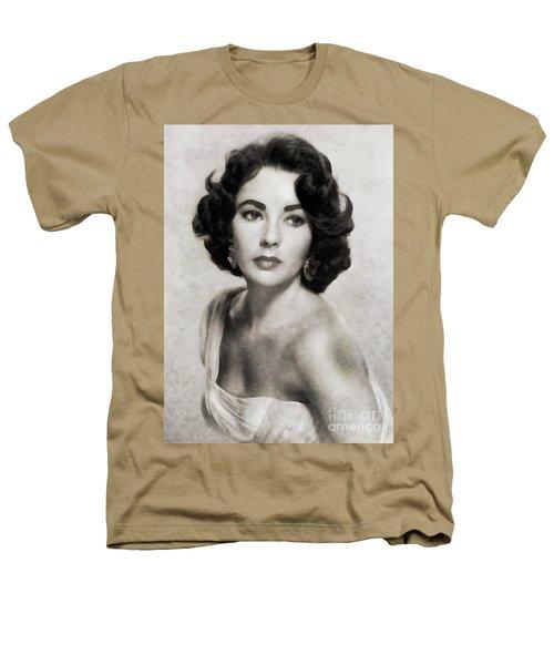 Elizabeth Taylor, Vintage Actress By Js Heathers T-Shirt