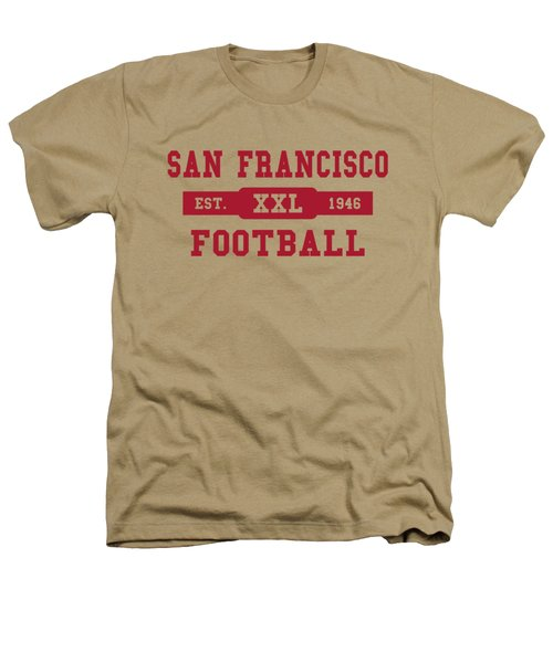 49ers Retro Shirt Heathers T-Shirt