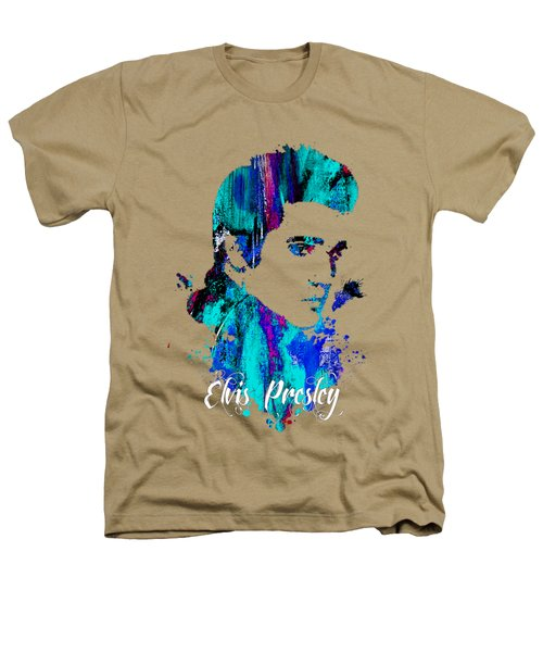 Elvis Presley Collection Heathers T-Shirt by Marvin Blaine